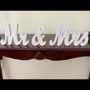 Other - Wedding Mr &Mrs